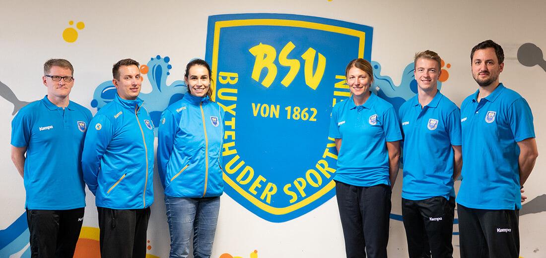 Trainerteam Handball Akademie Buxtehude