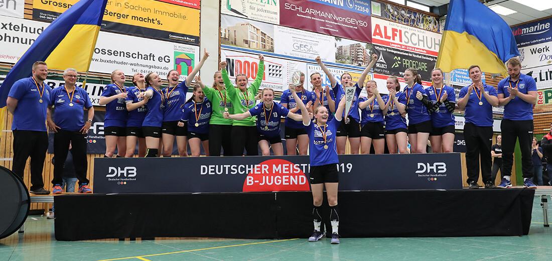Weibliche B-Jugend - Deutscher Meister 2019